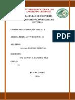 Informe Actividad Nro 6