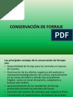 Conservación de Forraje