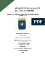 Informe Final de Perforadora Hidraulica Visita Yanacocha