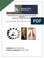 Teorias de Darwin y Lamarck