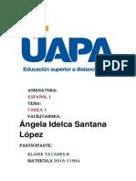 tarea 1 Español