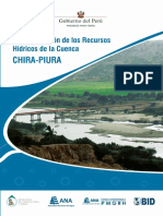 Plan de Gestión de Los Recursos Hídricos de La Cuenca Chira-piura
