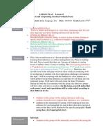 lesson plan 3- unit plan- l2