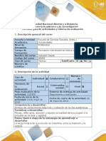 Guía de actividades y rúbrica de evaluación - Paso 5 - Elaborar ensayo sobre los factores sociales, políticos y económicos.docx