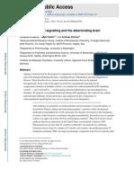 Endocannabinoid Signalling and the Deteriorating Brain Nihms698902