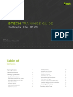 Btech Trainings Guide