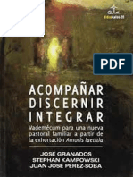 Acompañar, Discernir, Integrar - J. Granados, S. Kampowski, J.J. Pérez-Soba