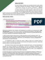 Fisiologia y Clinica de Trabajo de Parto y Dinamica Uterina