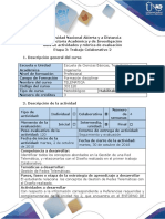 Rubrica de Evaluacion - Etapa 3 - Trabajo Colaborativo