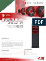 CET Power - AGIL Tri-Mono Datasheet v1.3