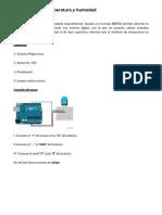 Como Medir La Temperatura y Humedad - DitecnoMakers