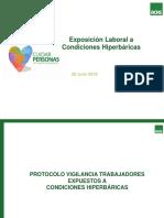 Presentación Protocolo Hiperbaria, 7 pasos