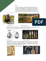 Panorama General Info Prehistoria