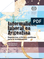Informalidad en Argentina_OIT