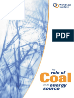 Role of Coal