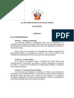 1Ley27815 PDF Codigo de Etica en La Funcion Publica