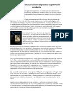 Desnutrición y El Proceso Cognitivo Completo