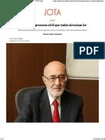 10 livros de processo civil  Dinamarco