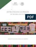 17 SEP (2015). Estrategias globales de mejora escolar. Orientaciones para su diseño, México..pdf