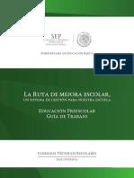 18 SEP (2014). La Ruta de Mejora Escolar. Un sistema de Gestión para Nuestra Escuela, México..pdf
