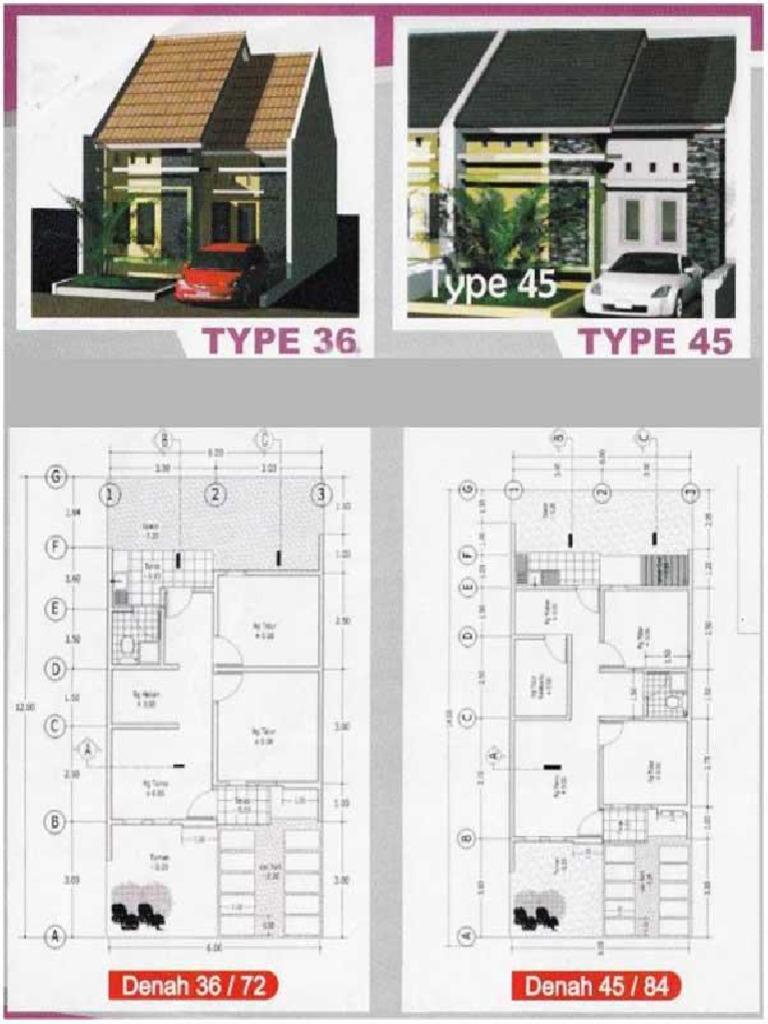 Desain 45 72 3 Kamar Tidur Cek Bahan Bangunan