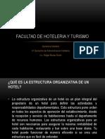 Hoteleria y Turismo Clase Degerencia Hotelera