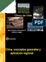 CLIMA CONCEPTOS GENERALES Y APLICACIÓN REGIONAL