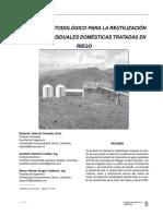 esquema metodologico para la reutilizacion de aguas residuales en el riego