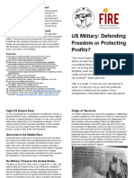 Defending Freedom or Protecting Profits Print