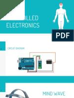 EEG control Electronics using Arduino