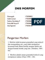 JENIS-JENIS MORFEM