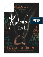 La Caida de Kalona ESPAÑOL- PC & Kristin Cast