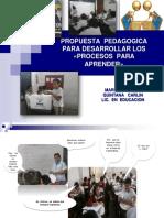PROPUESTA  PEDAGÓGICA  MQC