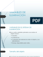 Variables de Iluminación