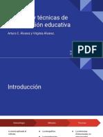 Metodos y Tecnicas de Investigacion Educativa