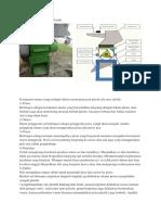 Mesin Pencacah Sampah Plastik