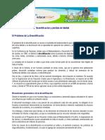 Desertificación y Pérdida de Hábitat CAUSAS Y EFECTOS
