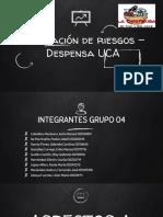 Presentación de Resultados Evaluación de Riesgos en Despensa UCA