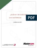 WhatsNew Mastercam 2018.en.es