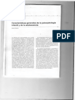 Caracteristicas Generales de La Psicopatología Infantil y de Adolescente