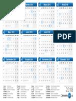 Calendario 2018 s