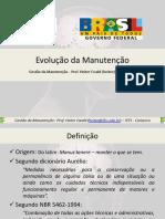 01 - Evolução Da Manutenção