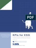 KPIs for ESG 3 0 Final