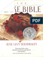 Beranbaum, Rose Levy-The Cake Bible-William Morrow Cookbooks (1988)