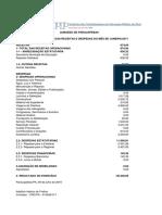 1 Prestação de Contas Jan - 2017 - Parauapebas