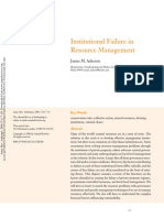 Acheson, James - Institutional Failure in Resource Management