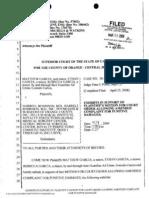 090306 Gar CIA Lawsuit Exhibits 1