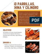 Curso de Parrillas caja china y cilindro