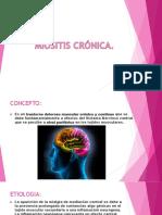 miositis cronica