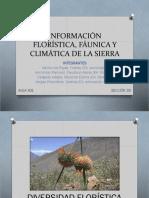 Florística, Fáunica y Climática de La Sierra-1